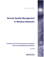Service Quality Management in Wireless Networks - Recursos VoIP
