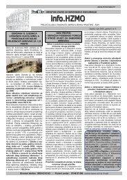 'info.HZMO', broj 8/2009. - Hrvatski zavod za mirovinsko osiguranje