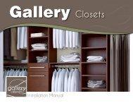 Gallery Closet Installation Manual - CLkitchens.com