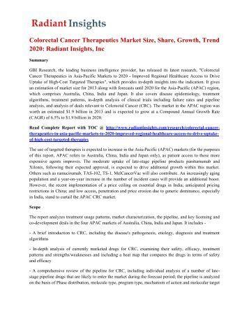 Antifungals market to 2017 generic