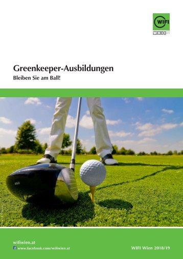 Greenkeeper-Ausbildungen im WIFI Wien