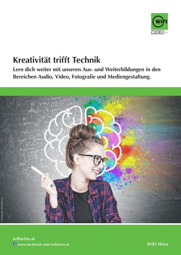 WIFI Wien goes Video - Ausbildungen im WIFI Wien