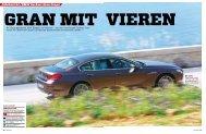 BMW Sechser Gran Coupé Fahrbericht