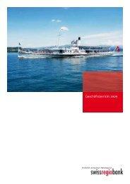 Geschäftsbericht 2009 - Acrevis