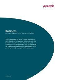 Business - Acrevis