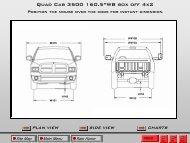 """Quad Cab 3500 160.5""""WB box off 4x2"""