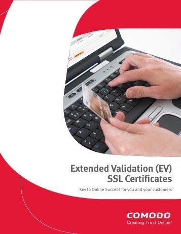 Extended Validation (EV) SSL Certificates - Bad Request