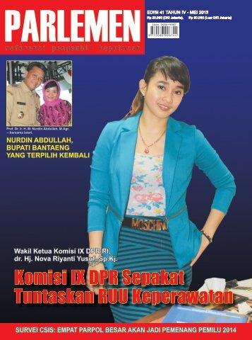 Majalah Parlemen Edisi 41