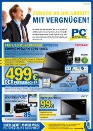 Inklusive Upgrade-Gutschein für Windows® 7 - PC-Spezialist  Trier
