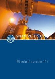 19 giugno 2012 - Snam Rete Gas