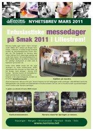 Nyhetsbrev Mars 2011 - Norrøna