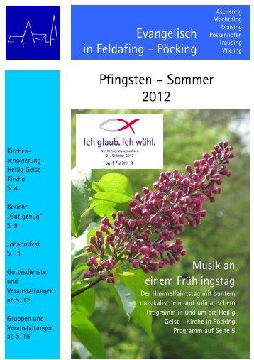 S? - Ev.-Luth. Kirchengemeinde Feldafing-Pöcking