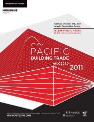 WWW.PBTEXPO.COM Tuesday, October 4th, 2011 ... - USGBC Hawaii