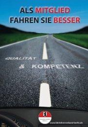 ALS MITGLIED FAHREN SIE BESSER - Fahrlehrer-Verband Berlin eV