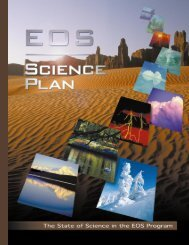 1999 EOS Science Plan - NASA's Earth Observing System