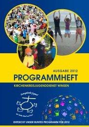 Programm Kreisjugenddienst 2012 - Kirchenkreis Winsen