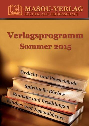 Verlagsprogramm