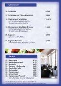Speisekarte Restaurant Athen Norderney - Seite 4