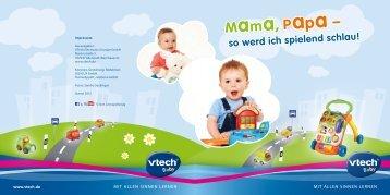mit Lernspielzeug von VTech Baby