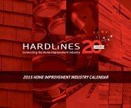 2015 HOME IMPROVEMENT INDUSTRY CALENDAR