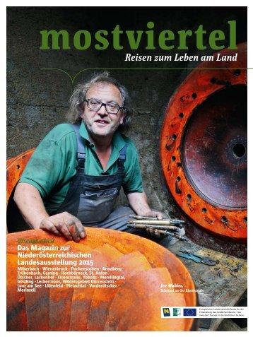 mostviertel Magazin Sommer 2015