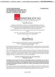 Download - IFM Immobilien AG