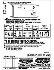 91450-MB03-1-01-01 Model (1) - AMETEK Power