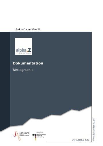 v1 Bibliographie Titel 2010.pub - AlphaZ - Grundbildung und Beruf