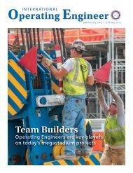 International Operating Engineer - Spring 2015