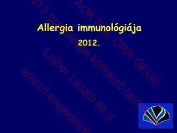 Allergia immunológiája.pdf