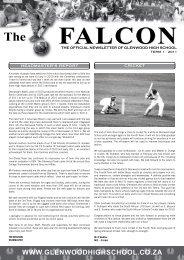 Glenwood Falcon 1st Quarter 2011.pdf - Glenwood High School