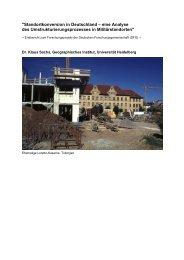 DFG-Endbericht - Geographisches Institut Uni Heidelberg