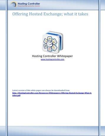 Download - Hosting Controller