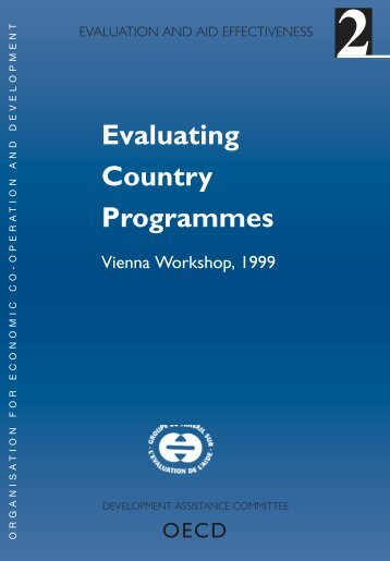 Evaluating Country Programmes - OECD Online Bookshop
