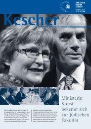 kescher edition november 2011 - Abraham Geiger Kolleg