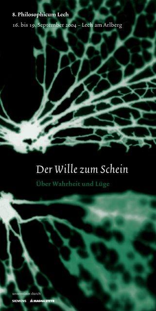 download als PDF - Philosophicum Lech