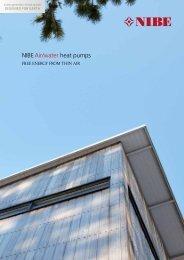 NIBEAir/water heat pumps