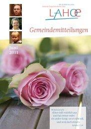 Gemeindemitteilungen Juni 2011 - Bibelkonferenzstätte ...