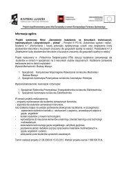 Informacja ogólna i postęp rzeczowy z realizacji projektu za okres 1.01
