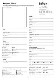 Request Form - Peden Bloodstock GmbH