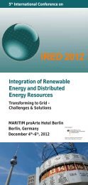 IRED 2012 - 5th International Conference on Integration of ...