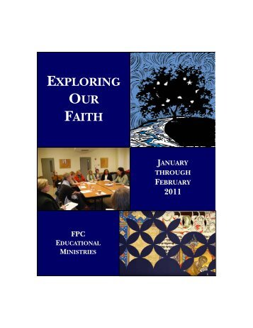 Adult Education Brochure Winter 2011 Jan-Feb.pdf - The First ...