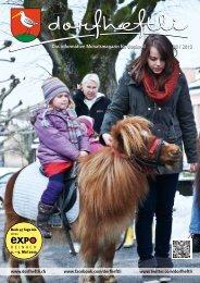 Das informative Monatsmagazin für Boniswil 03 / 2013 ... - dorfheftli