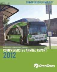 Comprehensive Annual Financial Report for FY 2012 - Omnitrans