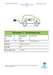 Deliverable 7.2 – Dissemination plan - ID4EV