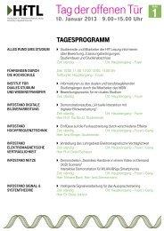 Tag der offenen Tür - Hochschule für Telekommunikation Leipzig