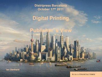 Digital Printing Publisher's View - Distripress