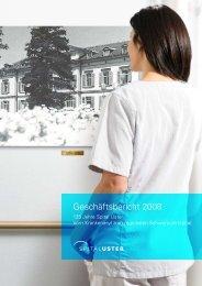 Geschäftsbericht 2008 - Spital Uster