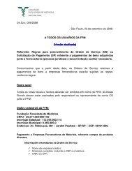 Dir. Circ. 09/2008 - Substituída pela Circular 01/2011 - FFM ...