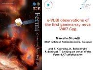 e-VLBI observations of the first gamma-ray nova V407 Cyg